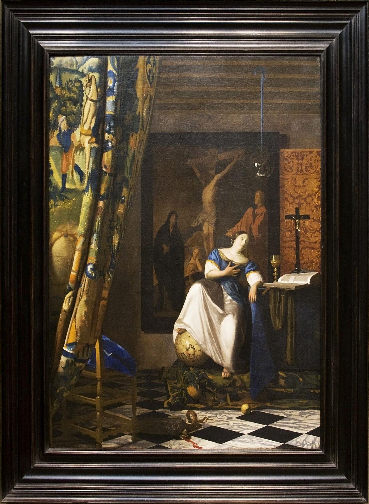 A Katolikus Hit Allegóriája Festmény Wikipédia