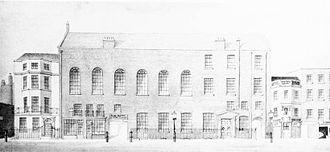Almack's - The building was unpretentious.