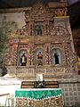Altar Left Side Baclayon Church Baclayon, Bohol.JPG