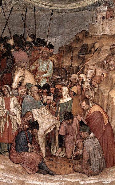File:Altichiero, crocefissione (dettaglio), basilica del santo, cappella di san felice, padova, 1376 circa.jpg