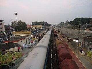 Aluva railway station Rail station in Kerala, India