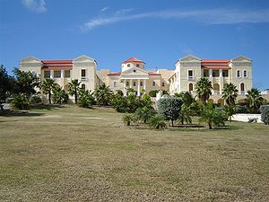 American University of the Caribbean - American University of the Caribbean main campus in Sint Maarten