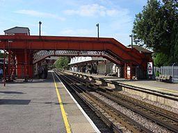Amersham tube station 3