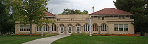 National Register of Historic Places listings in Larimer County, Colorado - Image: Ammons Hall