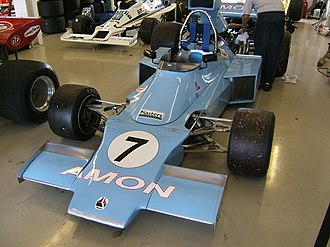Chris Amon Racing - The Amon F1 car.