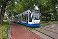 Amsterdam Wertheimpark GVB 2121 als lijn 14 Flevopark (30108202511).jpg