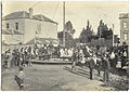 Amusement ride - opposite Franklin Square - c 1902 - probably Coronation celebrations (11279681675).jpg