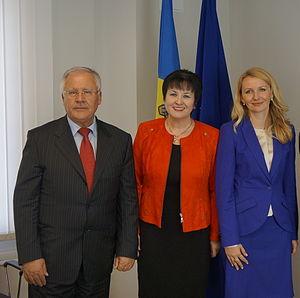 Ana Guțu - Dumitru Diacov, Ana Guțu and Inese Lībiņa-Egnere