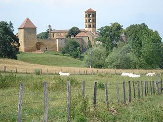 Anzy-le-Duc - A general view of Anzy-le-Duc
