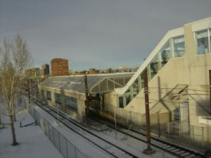 Anderson station (Calgary) - Image: Anderson (C Train) 5