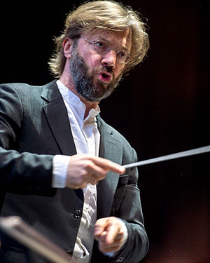 Sydney Festival - André de Ridder at the Sydney Festival Symphony in the Domain 40th Birthday concert in 2016
