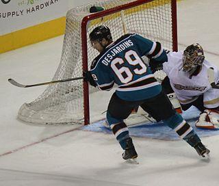Andrew Desjardins Canadian ice hockey player