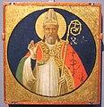 Angelico, un santo vescovo, 1425 ca., da pala di fiesole.JPG