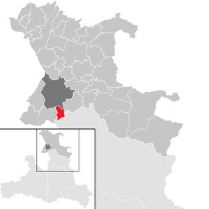 Lage der Gemeinde Anif im Flachgau(anklickbare Karte)
