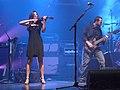 Ann Marie Calhoun Steve Vai Amherst, NY September 2007.jpg