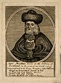Anna Macallame, a bearded lady. Line engraving. Wellcome V0007182.jpg