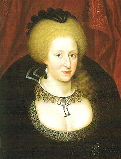 Anne of Denmark mourning the death of her son Henry in 1612.jpg
