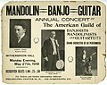 Annual concert of American Guild of banjoists, mandolinists and guitarists, to be held at Witherspoon Hall, Philadelphia, May 27, 1918.jpg