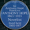 Anthony Hope 41 Bedford Square blue plaque.jpg