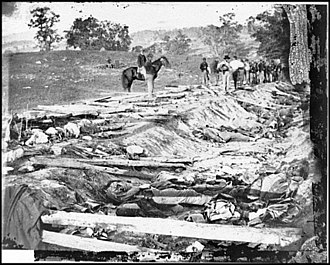 Maryland Campaign - Confederate dead at Antietam