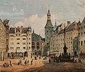 Anton Doll Der Marienplatz in München 1853.jpg