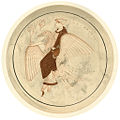 Aphrodite riding on a goose; after tondo from an Attic white-ground kylix attributed to the Pistoxenos Painter (8269415429).jpg