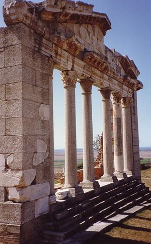 Northern Epirus - Ancient temple in Apollonia.