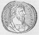 Apollonios von Tyana auf einem spätantiken Kontorniaten