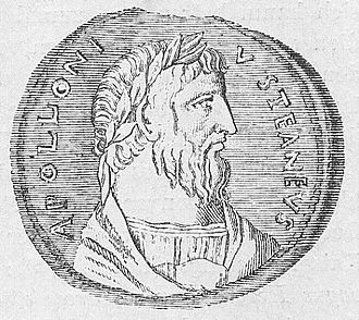 Apollonius of Tyana - Apollonius of Tyana depicted on a coin.