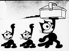Dessin animé 3 chats