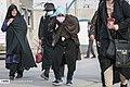 Arbaeen pilgrims on the border of Shalamcheh 015.jpg