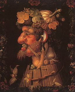 Arcimboldo, Giuseppe ~ Autumn, 1573, oil on canvas, Musée du Louvre, Paris
