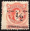 Argentina 1882 PROVISORIO Sc42 unused.jpg