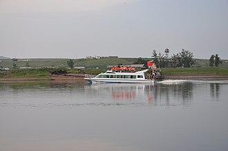 Argun River (Asia) - Image: Argun River near Inner Mogolia