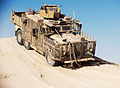Army Driver Training for New Wolfhound Vehicle at Camp Bastion, Afghanistan MOD 45151968.jpg