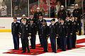 Army Reserve unit receives farewell at Blackhawks game before deployment to Afghanistan 131110-A-KL464-0018.jpg