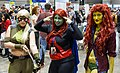 Artemis, Miss Martian and Poison Ivy at C2E2 2013 (8691208754).jpg