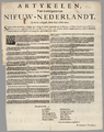 Articles about the Transfer of New Netherland on the 27th of August, Old Style, Anno 1664 WDL4062.png