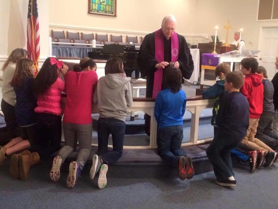 Ash Wednesday at Keystone United Methodist Church