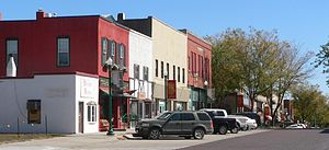 Ashland, Nebraska - Downtown Ashland: Silver Street