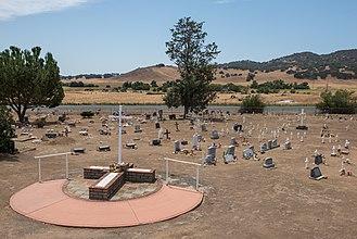 Santa Ysabel Asistencia - Cemetery at Santa Ysabel Asistencia
