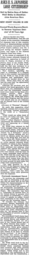 Asks US Japanese Lose Citizenship New York Times 1942-06-27.png