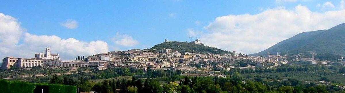 Panorama af Assisi