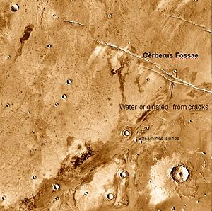 Athabasca Valles - Image: Athabasca Valles