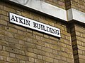 Atkin Building sign, Gray's Inn, London WC1 - geograph.org.uk - 1256133.jpg