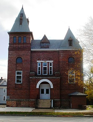 National Register of Historic Places listings in Henry County, Illinois - Image: Atkinson Hall 2