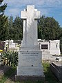 Attila Street Cemetery, Oeconomo tomb, 2018 Balatonboglár.jpg