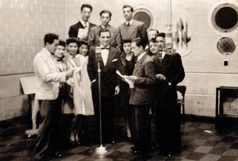 Description Audición de Radioteatro Radio Cooperativa 1944.jpg