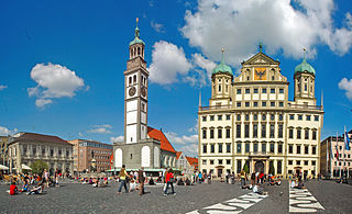 Augsburg Place in Bavaria, Germany