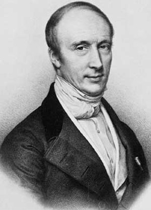 Augustin-Louis Cauchy - Cauchy around 1840. Lithography by Zéphirin Belliard after a painting by Jean Roller.